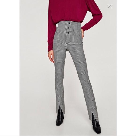 0396a5de184d Check high waist pants